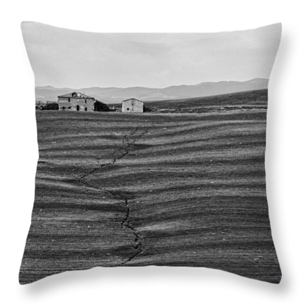 Farm Sienna Throw Pillow by Hugh Smith