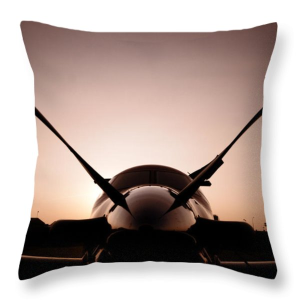 Fast Throw Pillow by Paul Job