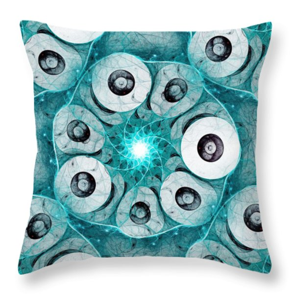 Fault Tolerance Throw Pillow by Anastasiya Malakhova