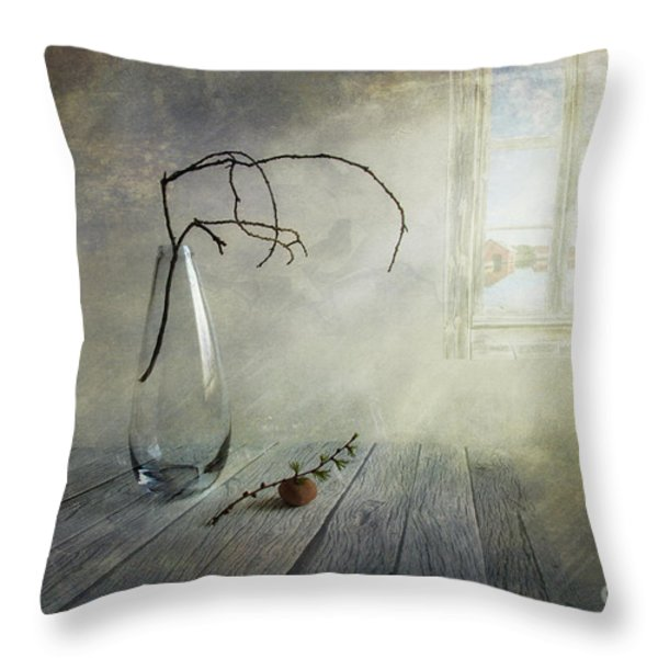 Feel a little spring Throw Pillow by Veikko Suikkanen