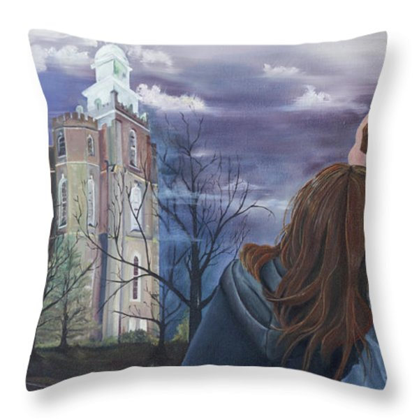 Fiance Throw Pillow by Jane Autry