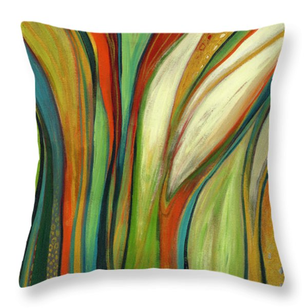 Finding Paradise Throw Pillow by Jennifer Lommers