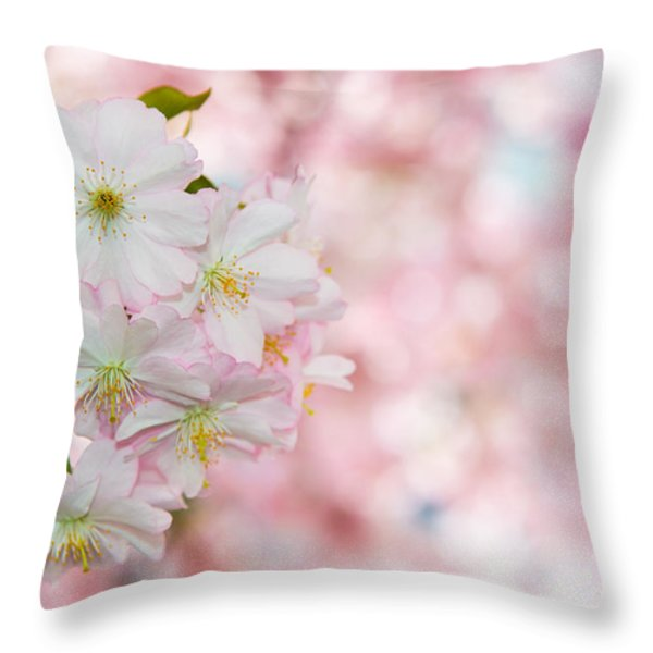 Finest Spring Time Throw Pillow by Hannes Cmarits