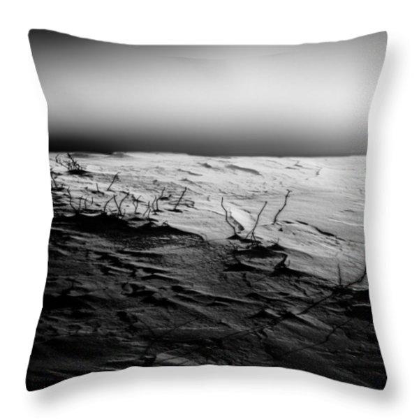 First Light Throw Pillow by Bob Orsillo