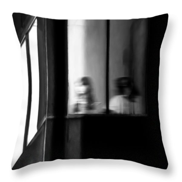 Five Windows Throw Pillow by Bob Orsillo