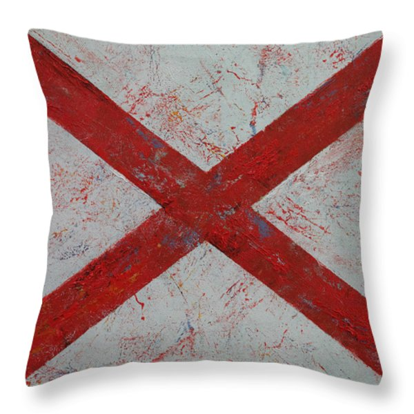 Alabama Throw Pillow by Michael Creese