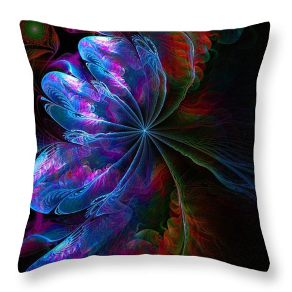 Flamenco Throw Pillow by Amanda Moore