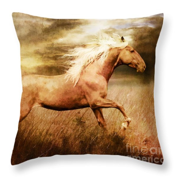 Fleet Throw Pillow by Shanina Conway