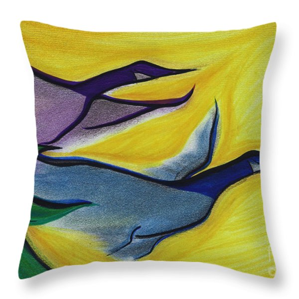 Flight By Jrr Throw Pillow by First Star Art