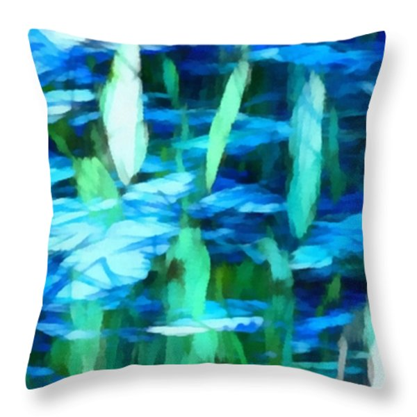 Float 2 Horizontal Throw Pillow by Angelina Vick