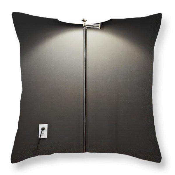 Floor lamp Throw Pillow by Elena Elisseeva