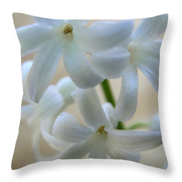 Floral Design Throw Pillow by Neal  Eslinger