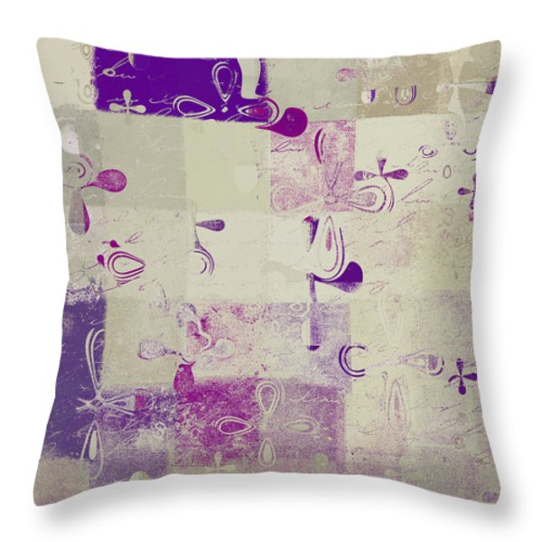 Florus Pokus A01d Throw Pillow by Variance Collections