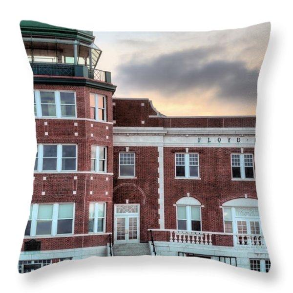 Floyd Bennett Field  Throw Pillow by JC Findley