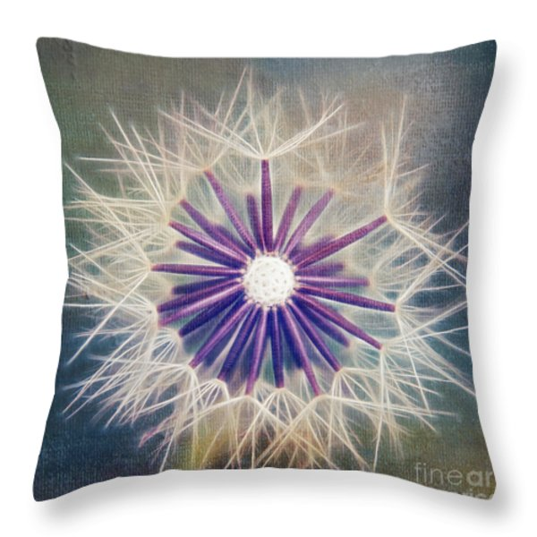 Fluffy Sun - 9bt2a Throw Pillow by Variance Collections