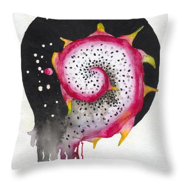 Fluidity 02 - Elena Yakubovich Throw Pillow by Elena Yakubovich
