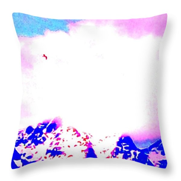 Fly like a bird Throw Pillow by Hilde Widerberg