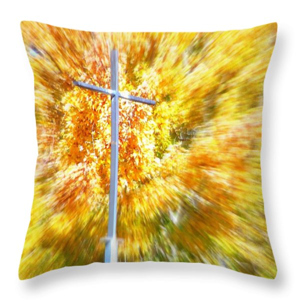 Focus Throw Pillow by Bobbee Rickard