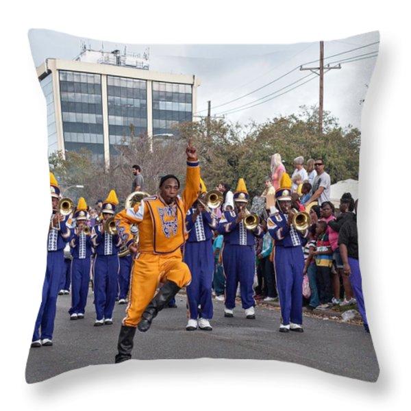 Follow Me Throw Pillow by Steve Harrington