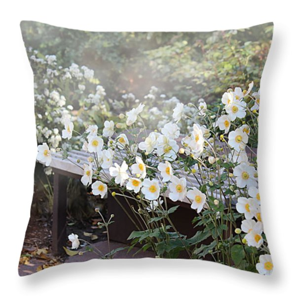For a Moment Throw Pillow by Kume Bryant