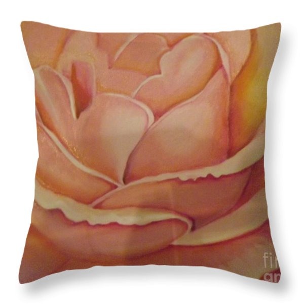 For My Love Throw Pillow by Bernie Bishop