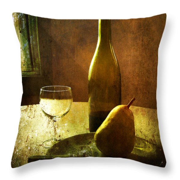 For One Throw Pillow by Julie Palencia