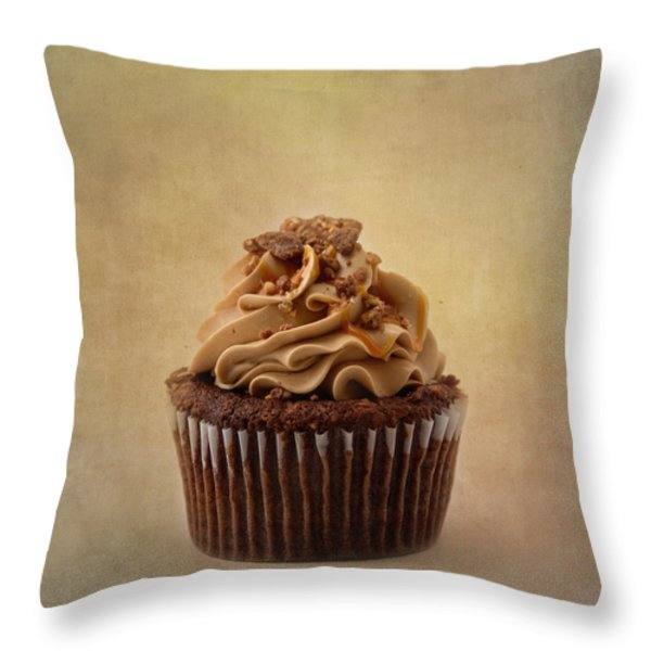 For the Chocolate Lover Throw Pillow by Kim Hojnacki