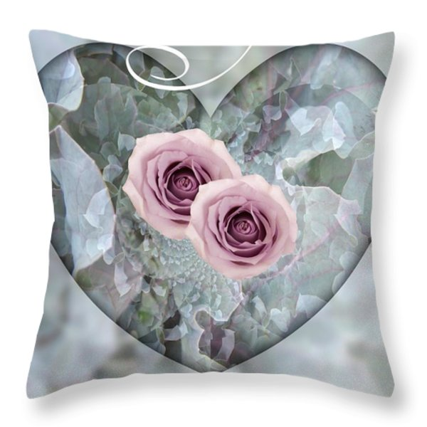 For You Throw Pillow by Shirley Sirois