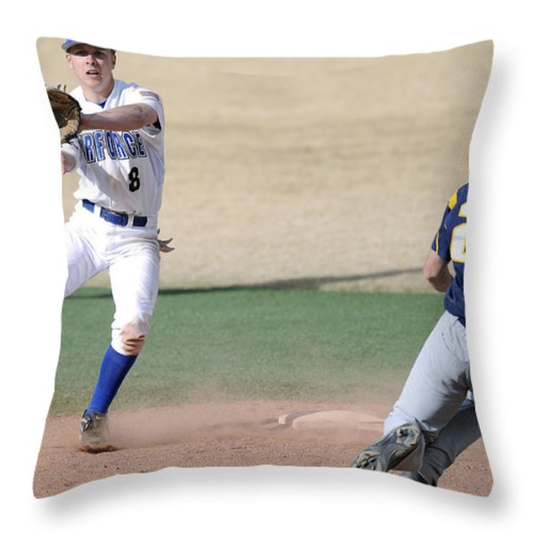 Force Out Throw Pillow by Mountain Dreams