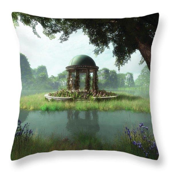 Forever Summer Throw Pillow by Melissa Krauss
