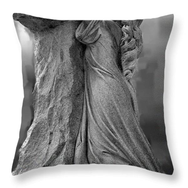 Forgiven Throw Pillow by Randy Pollard