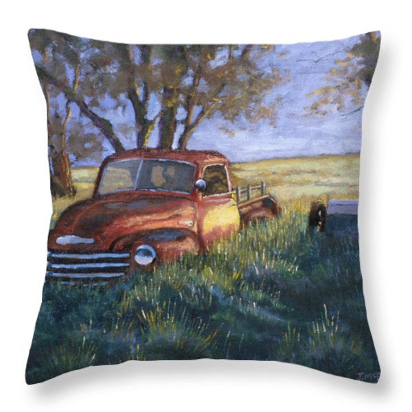 Forgotten but still Good Throw Pillow by Jerry McElroy