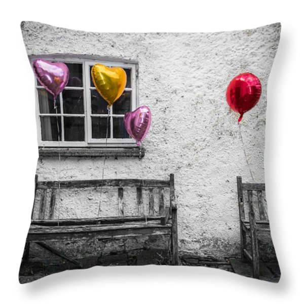 Forgotten Romance Throw Pillow by Semmick Photo