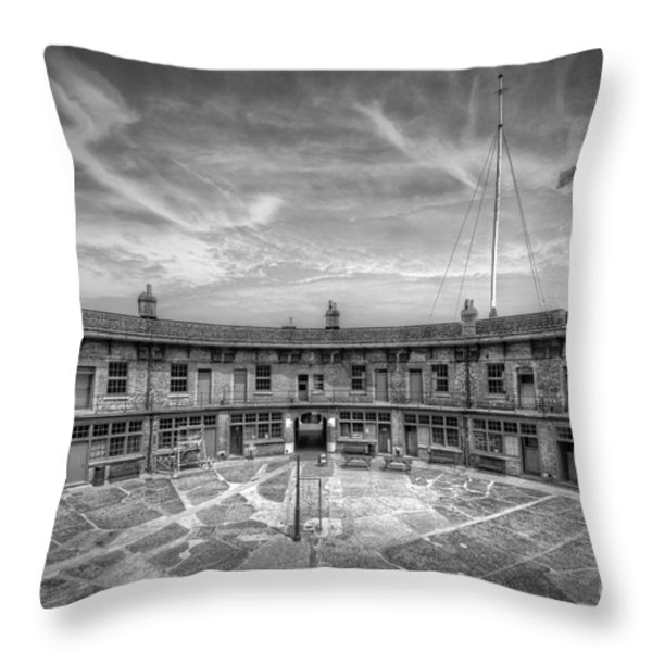 Fort Throw Pillow by Svetlana Sewell