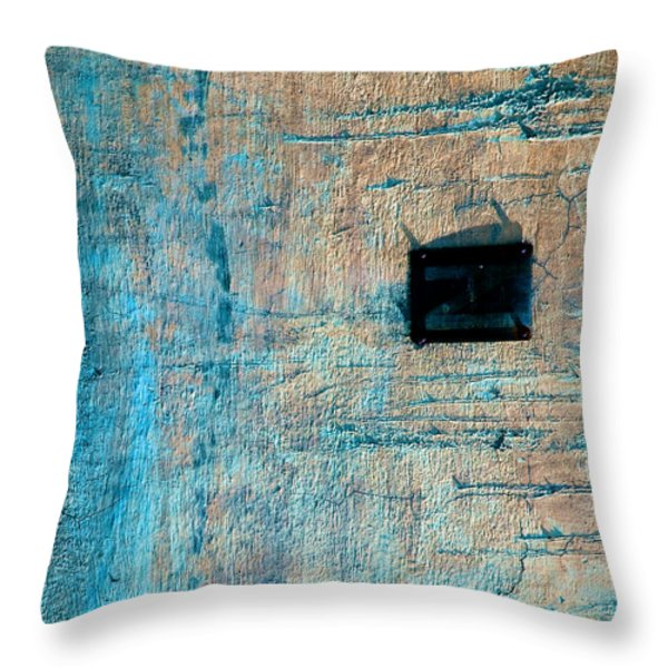 Foundation Eight Throw Pillow by Bob Orsillo