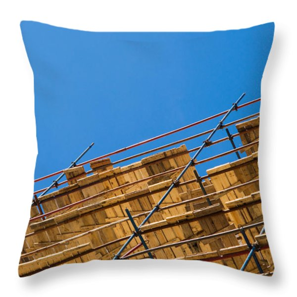 Foundation - Featured 2 Throw Pillow by Alexander Senin