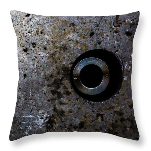 Foundation Number Seventeen Spy Throw Pillow by Bob Orsillo