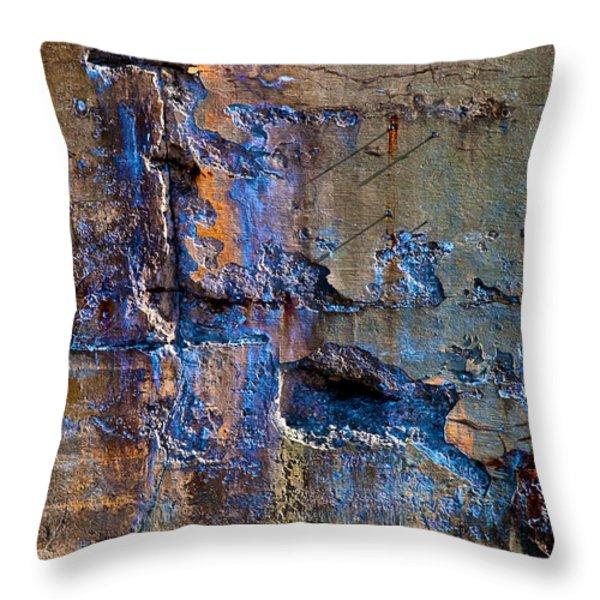 Foundation Seven Throw Pillow by Bob Orsillo