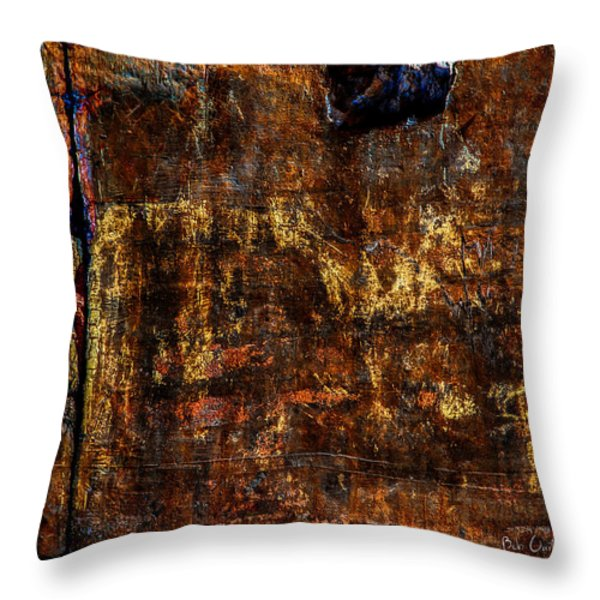 Foundation Six Throw Pillow by Bob Orsillo