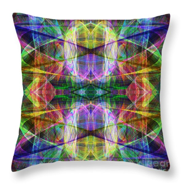 Fourth Dimension Ap130511-22-2b Throw Pillow by Wingsdomain Art and Photography