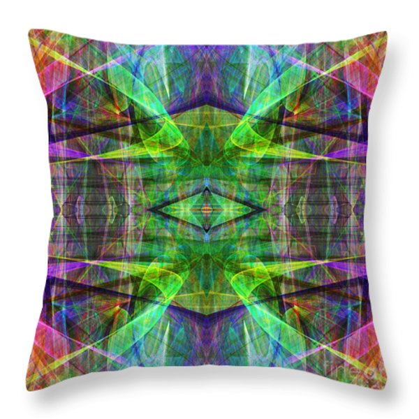 Fourth Dimension ap130511-22 Throw Pillow by Wingsdomain Art and Photography