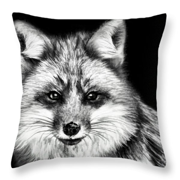Foxtrot Throw Pillow by Steven Richardson