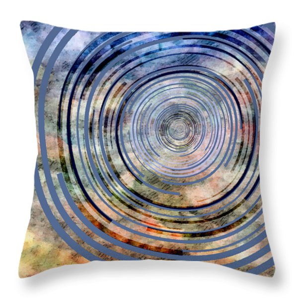 Free From Space And Time Throw Pillow by Angelina Vick