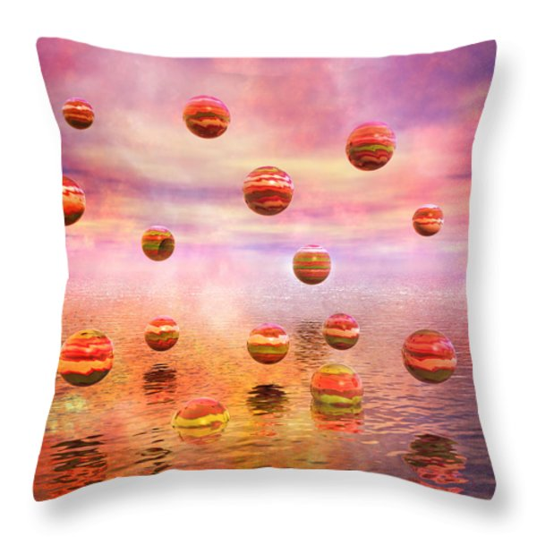 Freedom Throw Pillow by Betsy A  Cutler