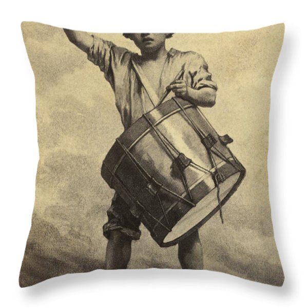 Freemen To Arms Throw Pillow by Paul W Faust -  Impressions of Light