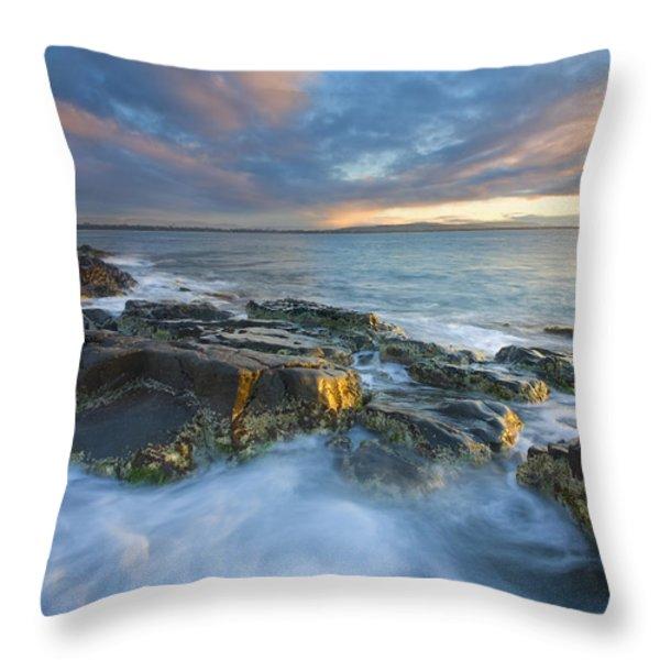 Freycinet Cloud Explosion Throw Pillow by Mike  Dawson
