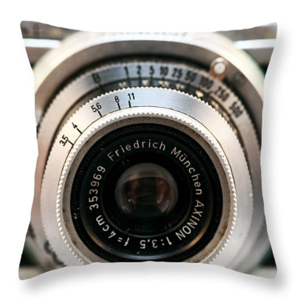 Friedrich Munchen Throw Pillow by John Rizzuto