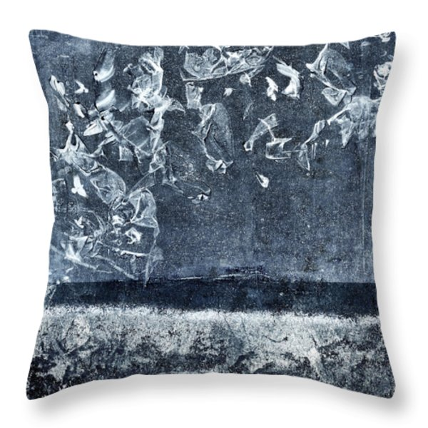 From And To The Sea Throw Pillow by Carol Leigh