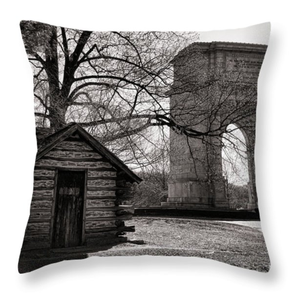 From Humble to Glorious Throw Pillow by Olivier Le Queinec