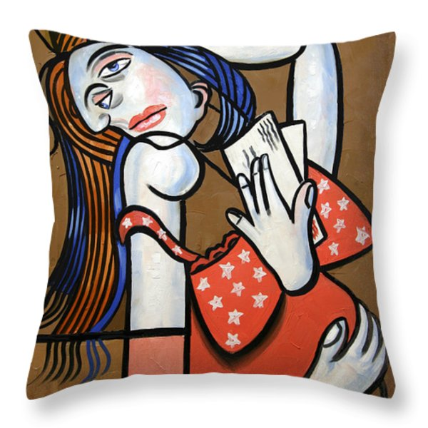 From Iraq With Love Throw Pillow by Anthony Falbo